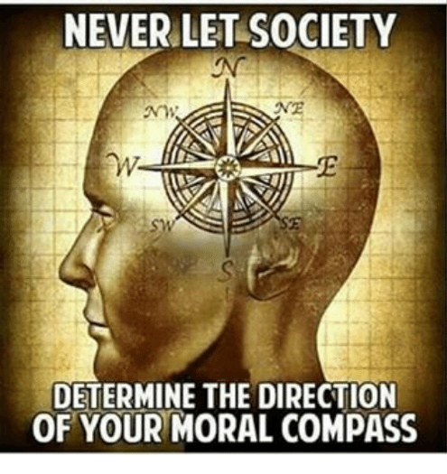 Our Moral Compass Needs to Get Back on Course